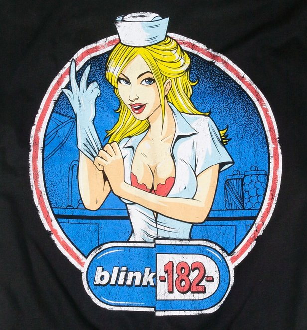 Charcoal Blink-182 Enema of the State T-Shirt from Amplified