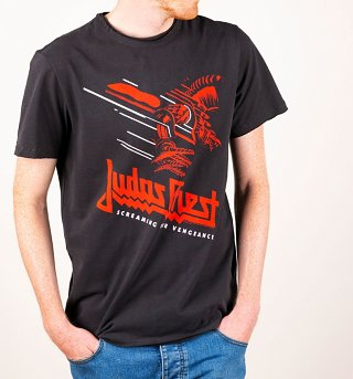 Charcoal Judas Priest Screaming For Vengeance T-Shirt from Amplified