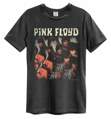 Charcoal Piper At The Gates Of Dawn Pink Floyd T-Shirt from Amplified