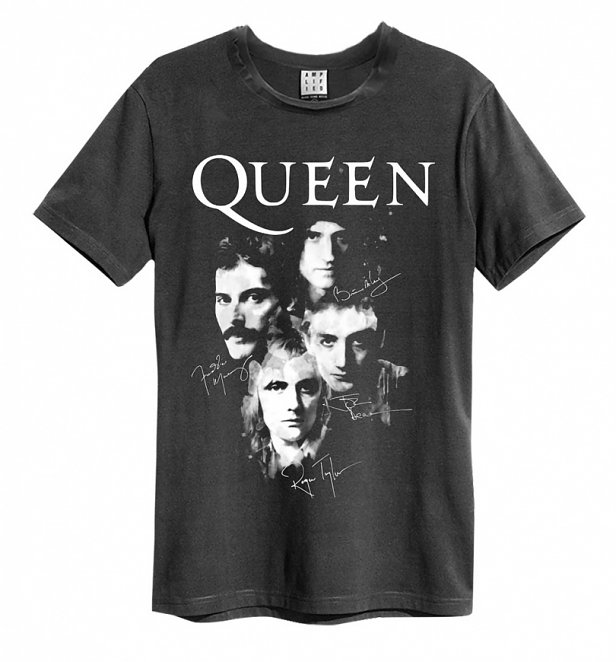 Charcoal Queen Photo T-Shirt from Amplified