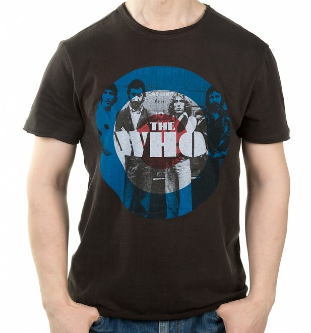 Charcoal The Who Target T-Shirt from Amplified