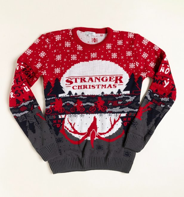 Christmas Things: A Stranger Knitted Christmas Jumper from Not Just Clothing