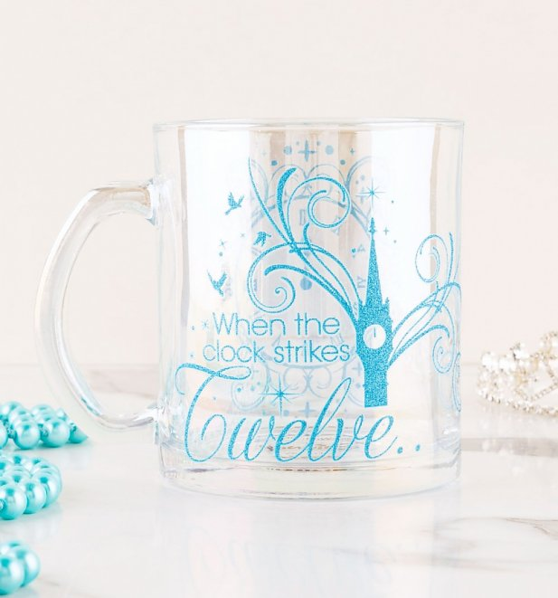 Cinderella Glass Mug from Funko