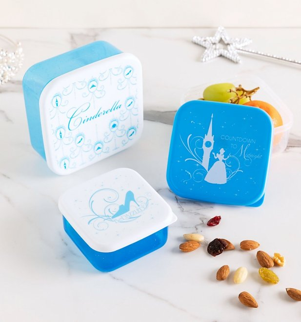 Cinderella Set Of Three Snack Boxes from Funko