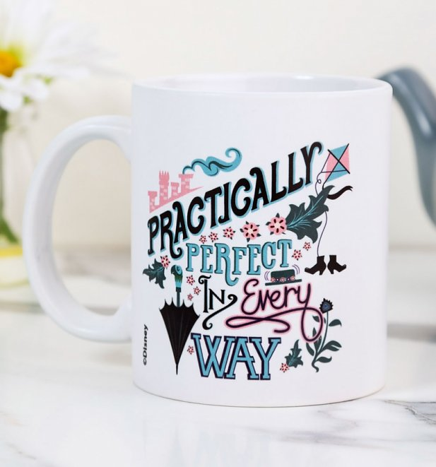 Classic Disney Mary Poppins Practically Perfect Mug