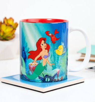 Classic Disney The Little Mermaid Under The Sea Mug