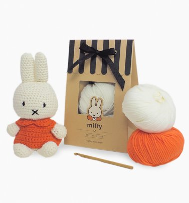 Classic Miffy Amigurumi Crochet Kit from Stitch & Story