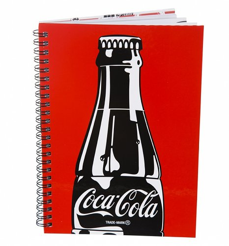 Coca-Cola Bottle A5 Spiral Bound Notebook