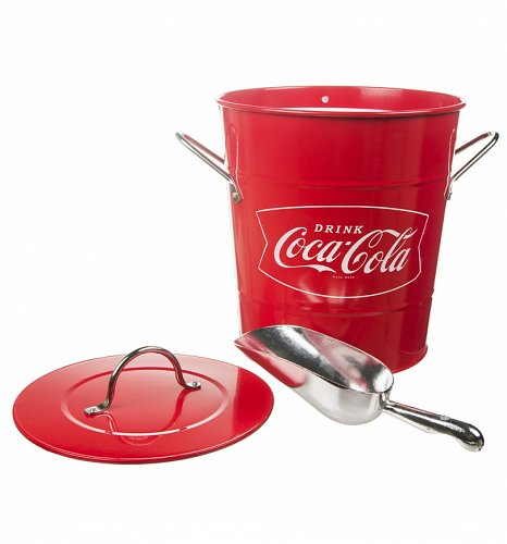 Coca-Cola Ice Bucket And Scoop
