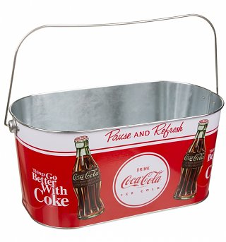 Coca-Cola Pause And Refresh Oval Ice Bucket