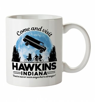 Come And Visit Hawkins Indiana Stranger Things Inspired Mug