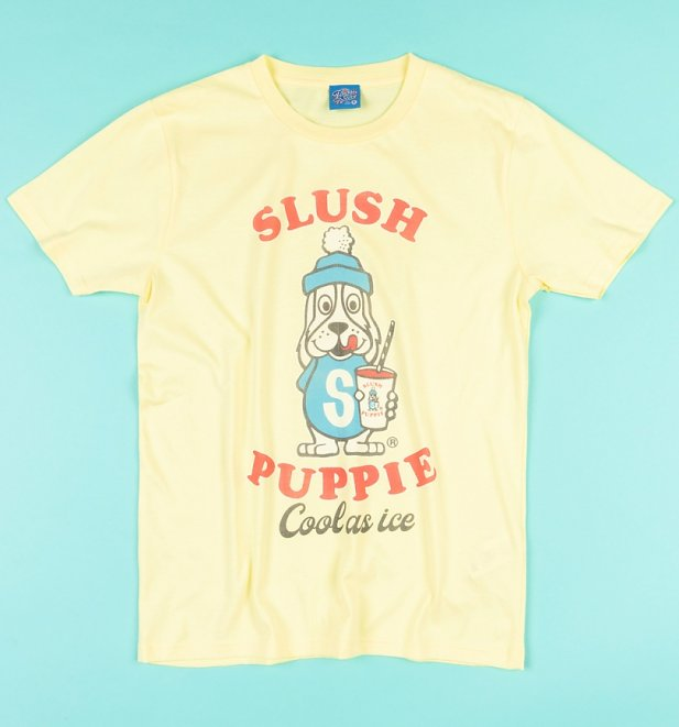 Cool As Ice Yellow Slush Puppie T-Shirt