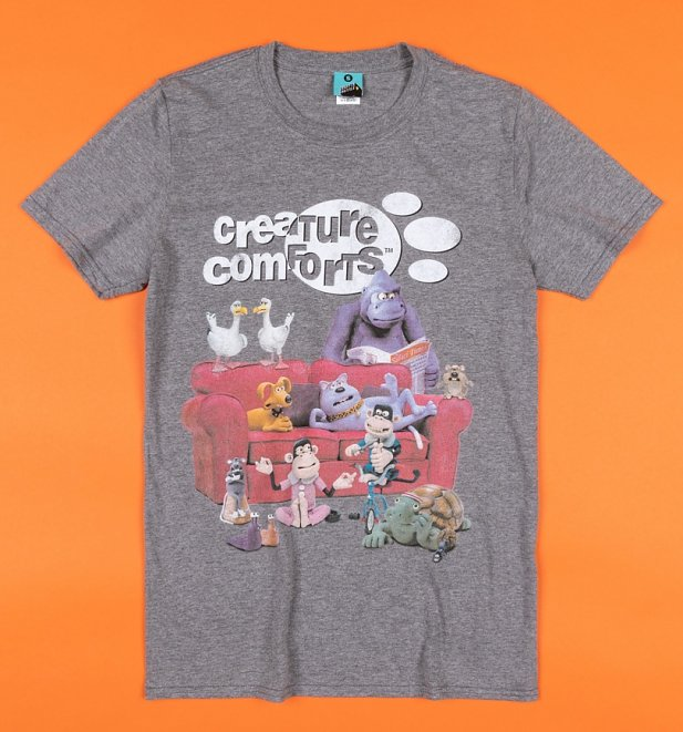 Creature Comforts Grey T-Shirt