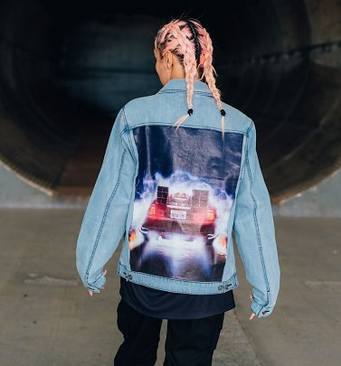 Criminal Damage x Back To The Future Delorean Denim Jacket
