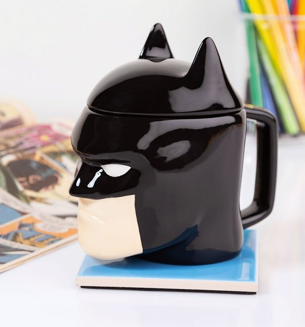 DC Comics Batman 3D Mug With Lid