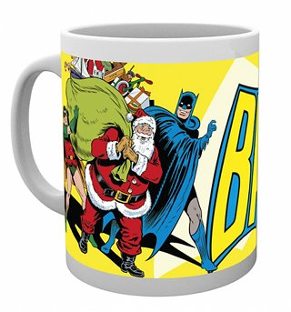 DC Comics Batman Santa Christmas Mug