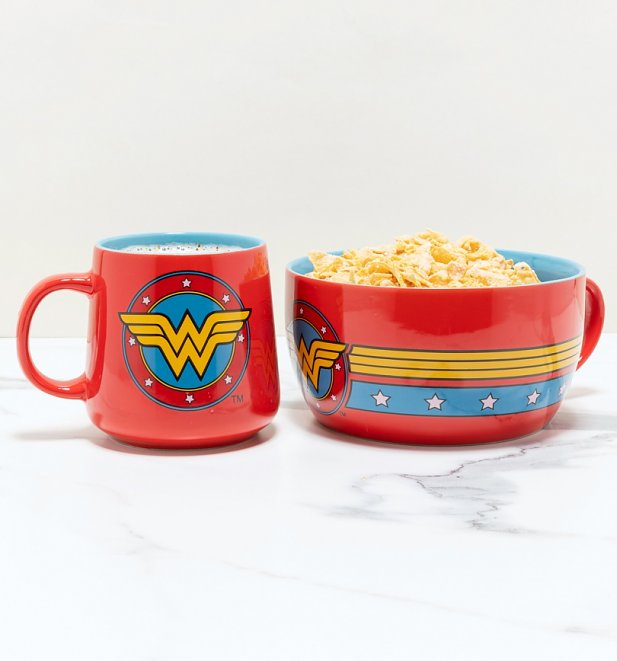DC Comics Classic Wonder Woman Breakfast Set