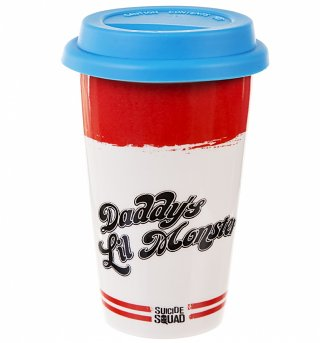 DC Comics Daddy's Lil Monster Travel Mug