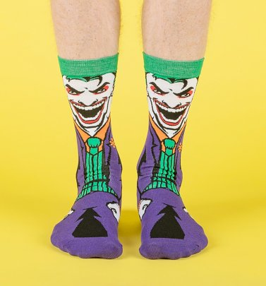 DC Comics Joker Socks