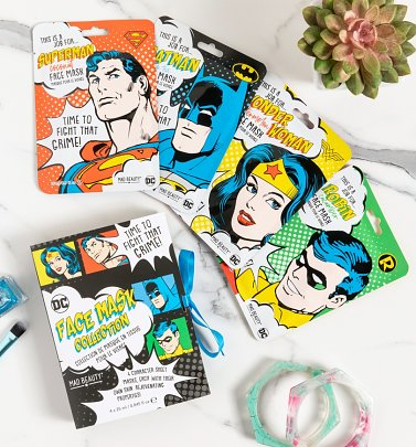 DC Comics Sheet Face Mask Collection