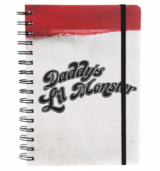 DC Comics Suicide Squad Daddy's Little Monster A5 Notebook