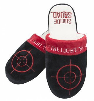 DC Comics Suicide Squad Deadshot Slip On Slippers