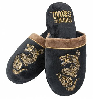 DC Comics Suicide Squad Killer Croc Slip On Slippers
