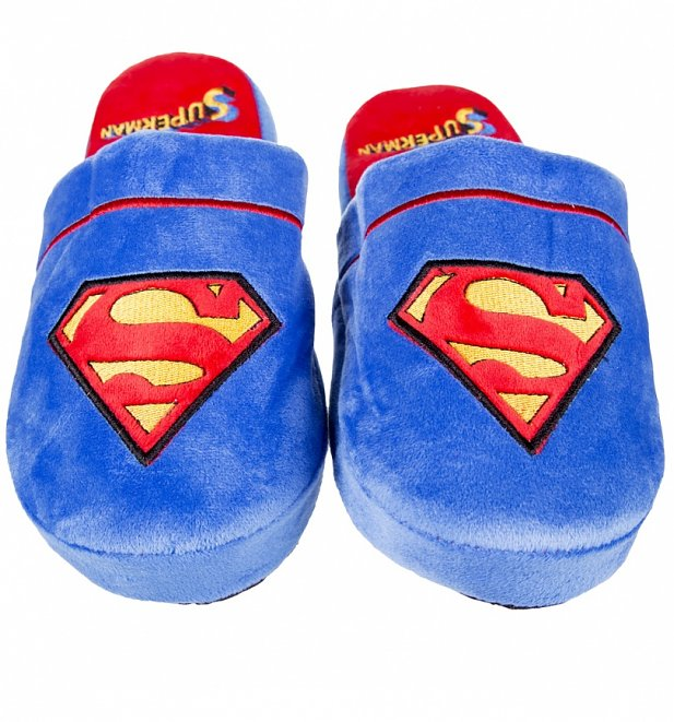 DC Comics Superman Slip On Slippers