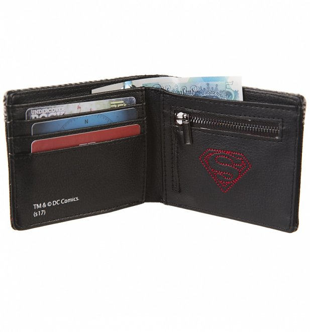 DC Comics Superman Woven Panel Wallet