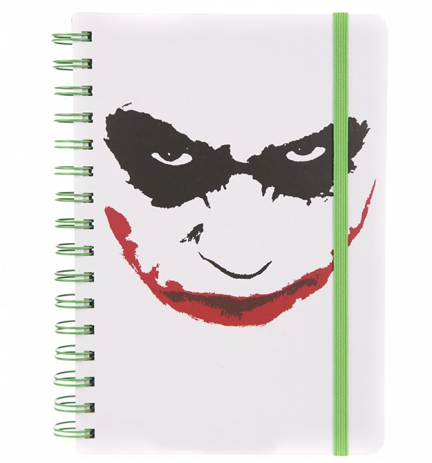 DC Comics The Joker Face A5 Notebook