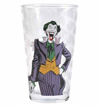 DC Comics The Joker Large Boxed Glass