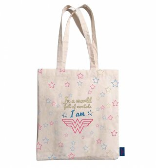 DC Comics Wonder Woman Quote Tote Bag