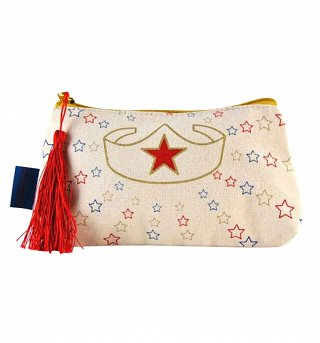 DC Comics Wonder Woman Stars Cosmetic Bag