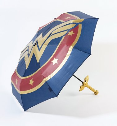 DC Comics Wonder Woman Umbrella With Sword Handle