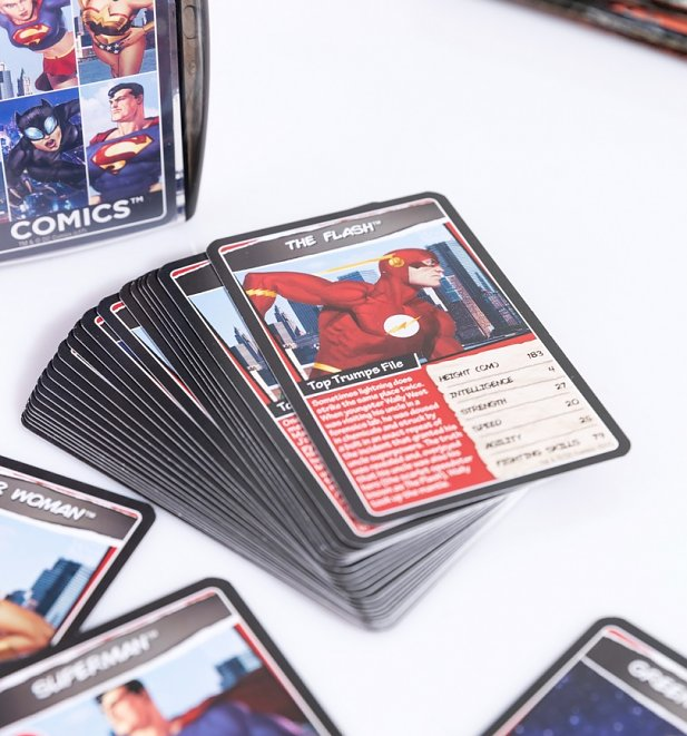 DC Superheroes Top Trumps Card Game