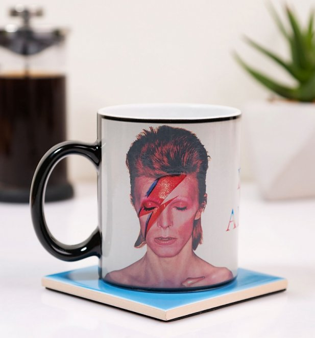 David Bowie Aladdin Sane Heat Changing Mug