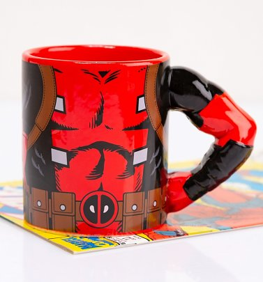 Deadpool Arm Meta Merch Mug