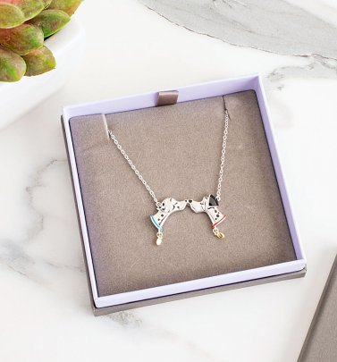 Disney 101 Dalmatians Pongo and Perdita Necklace