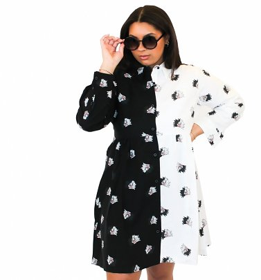 Disney 101 Dalmations Cruella Button Down Dress from Cakeworthy