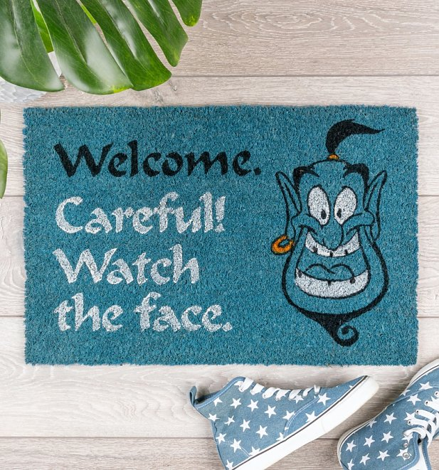 Disney Aladdin Genie Welcome Door Mat