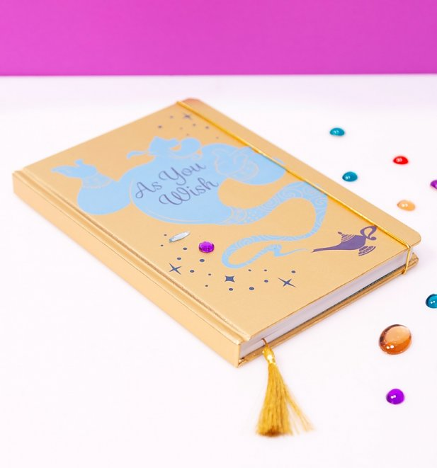Disney Aladdin Gold A5 Notebook