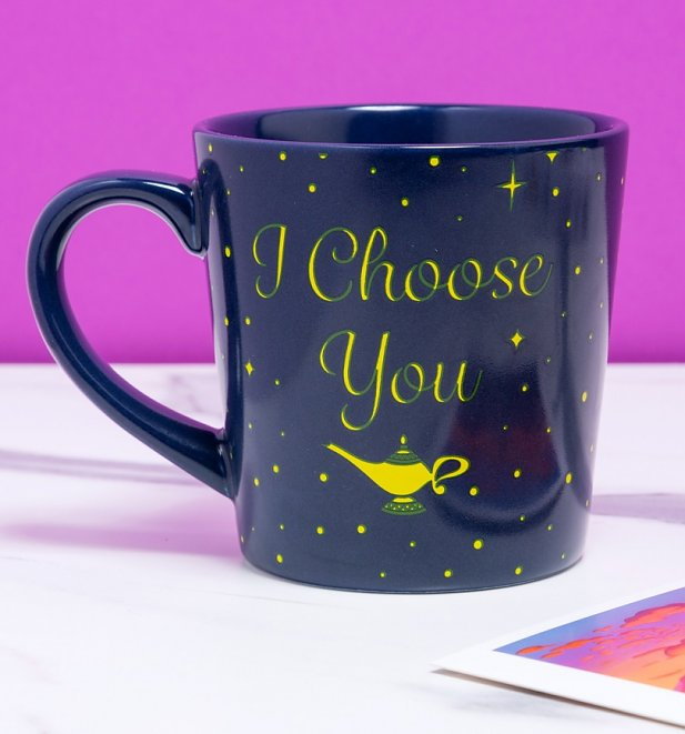 Disney Aladdin I Choose You Tapered Mug