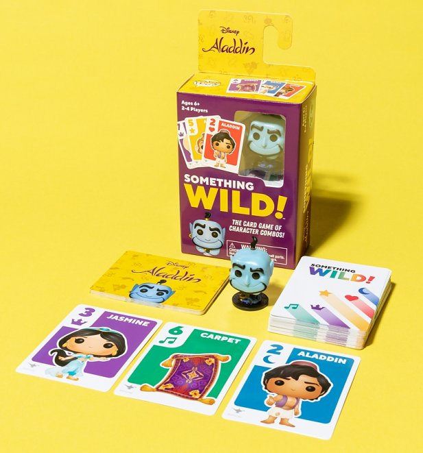 Disney Aladdin Something Wild Game from Funko