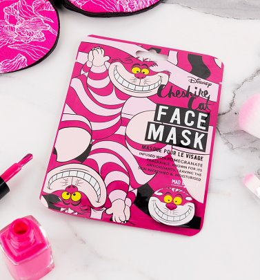 Disney Alice In Wonderland Cheshire Cat Sheet Face Mask from Mad Beauty
