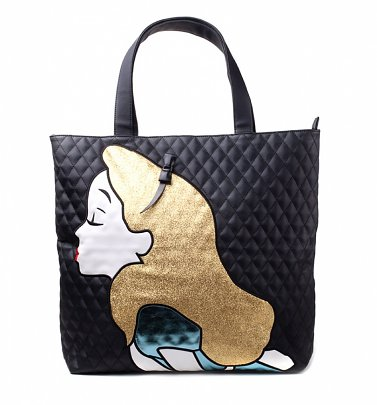 Disney Alice In Wonderland Quilted Tote Bag