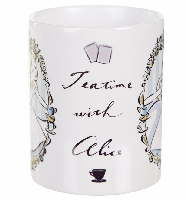 Disney Alice In Wonderland Tea Time Mug