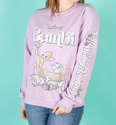Disney Bambi Orchid Sweater
