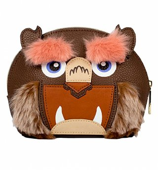 Disney Beauty And The Beast Furry Beast Cosmetic Bag from Danielle Nicole