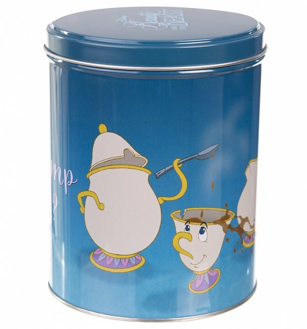 Disney Beauty And The Beast Mrs Potts Storage Tin