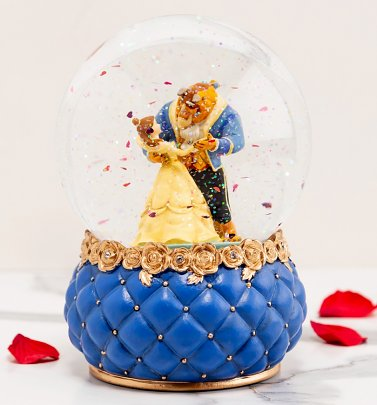Disney Beauty And The Beast Snow Globe
